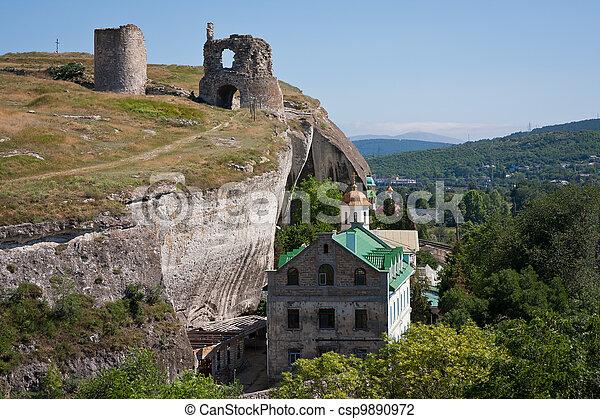 Fortress Calamita in Crimea - csp9890972