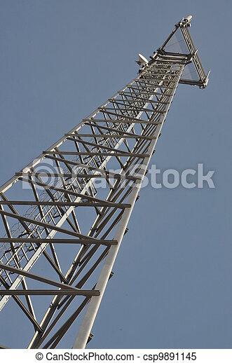 Soaring mast cell - csp9891145