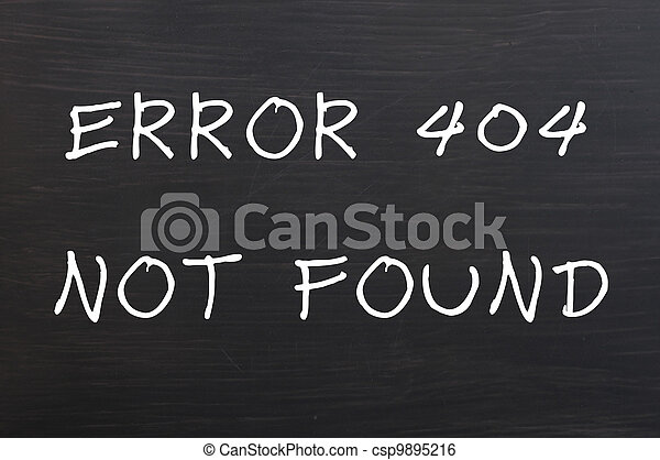 Error 404 - Page not found - csp9895216