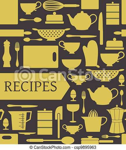 Recipes Card - csp9895963