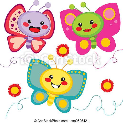 Vector Clip Art... Free Clipart Downloads Butterflies