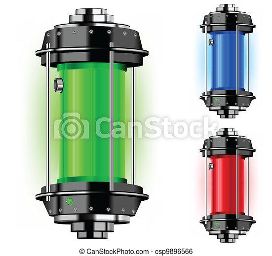 Container of alternative energy - csp9896566