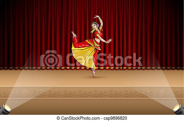Indian Classical Dancer - csp9896820
