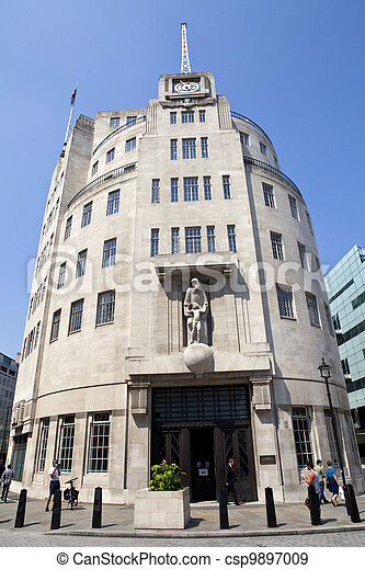 BBC Broadcasting House in London - csp9897009