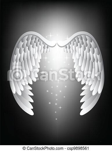 Angel wing - csp9898561