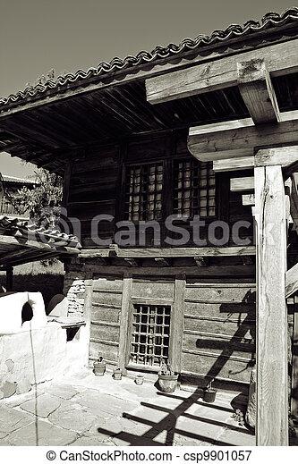 Bulgarian revival house - csp9901057