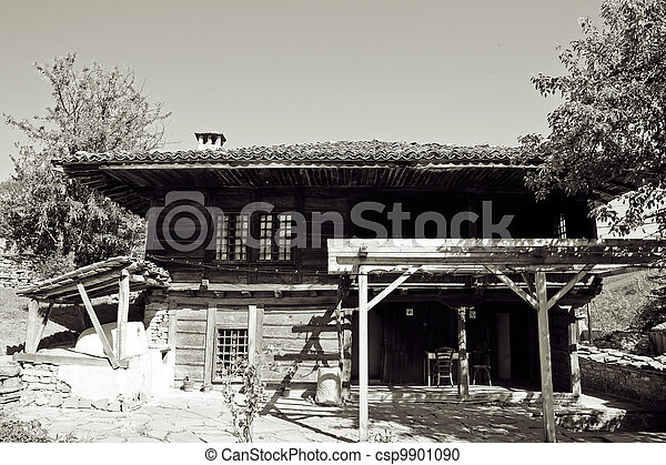 Bulgarian revival house - csp9901090
