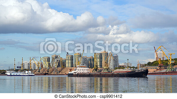 construction at the Moskva River - csp9901412