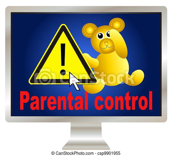 Keep your kids safe online - csp9901955