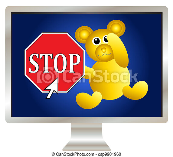 Keep your kids safe online - csp9901960