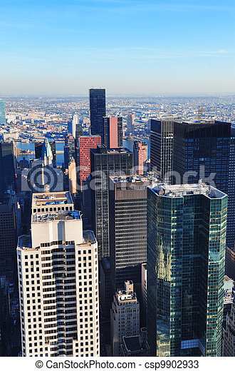 New York City skyscrapers - csp9902933