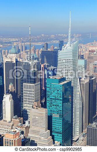 New York City skyscrapers - csp9902985