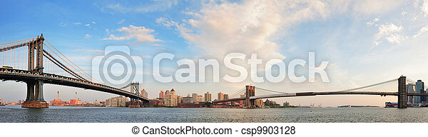 New York City Bridges - csp9903128