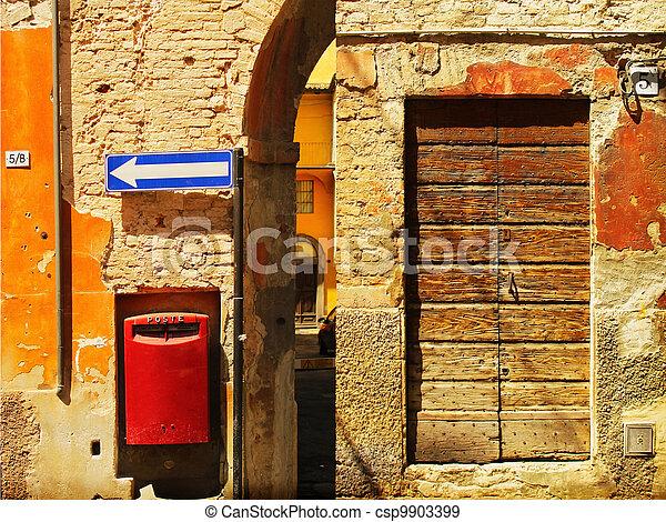 Ancient wall - csp9903399