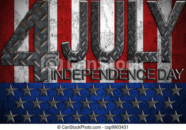 4th of july independence day - csp9903431