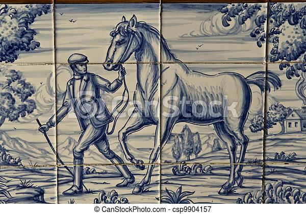 Picture of azulejos cer mica de talavera se denomina - Azulejos reina ...