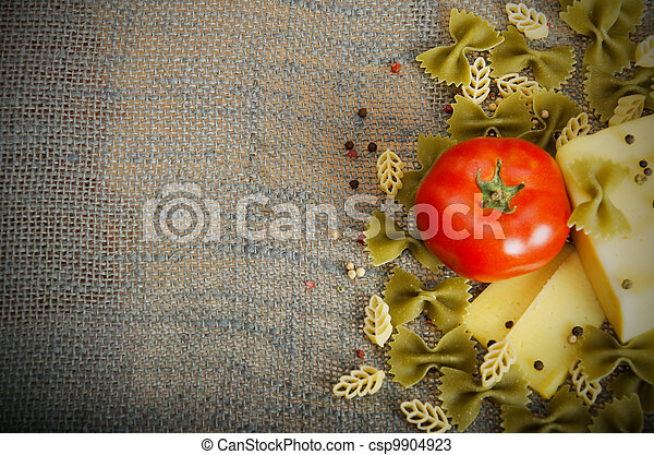pasta ingredients - csp9904923