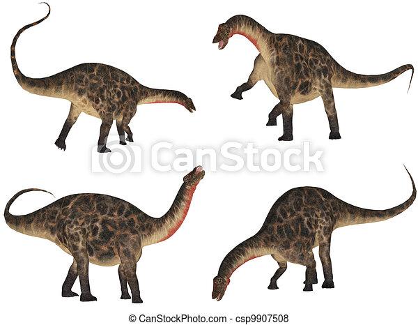Dicraeosaurus Pack - csp9907508