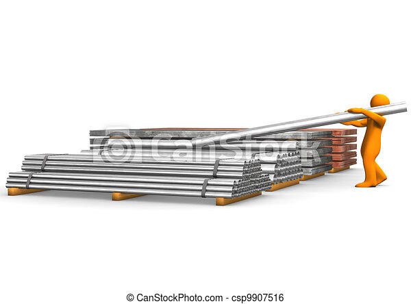 Steel Trading - csp9907516