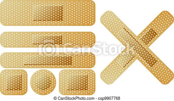sticking plaster - csp9907768