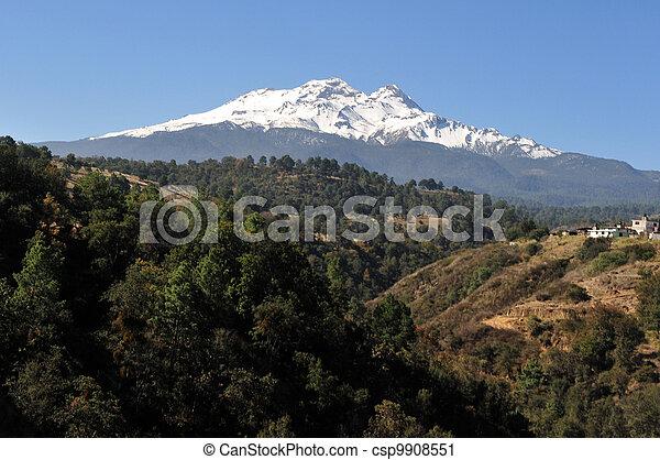 Iztaccíhuatl Volcano mountain - csp9908551