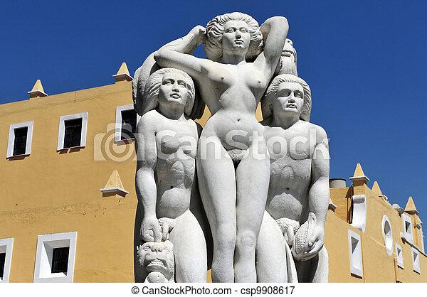 Puebla city artists neighborhood - csp9908617