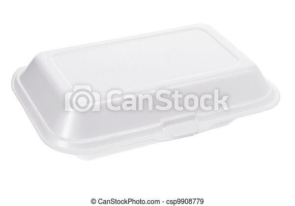 Styrofoam Box  - csp9908779