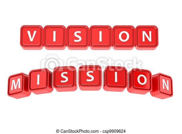 Vision mission - csp9909624