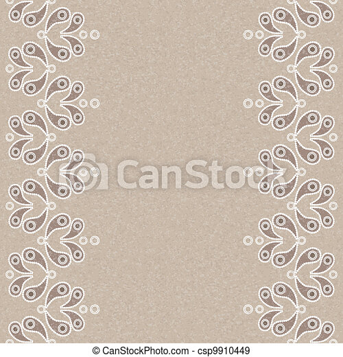 Vector vintage seamless background - csp9910449