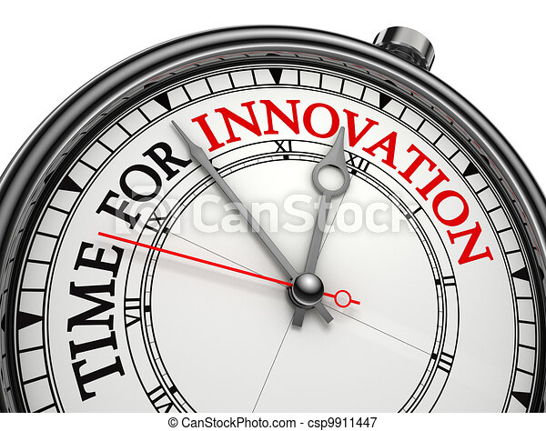 innovation time concept clock  - csp9911447