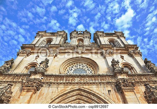 The facade of Roman Catholic convent - csp9912697