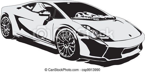 black sports car clipart - photo #16