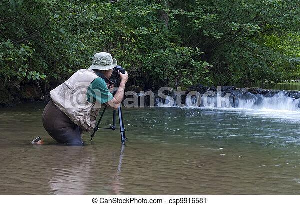 nature photographer - csp9916581