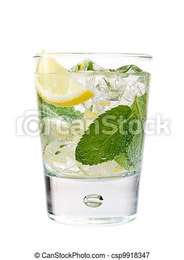 Refreshing drink - csp9918347