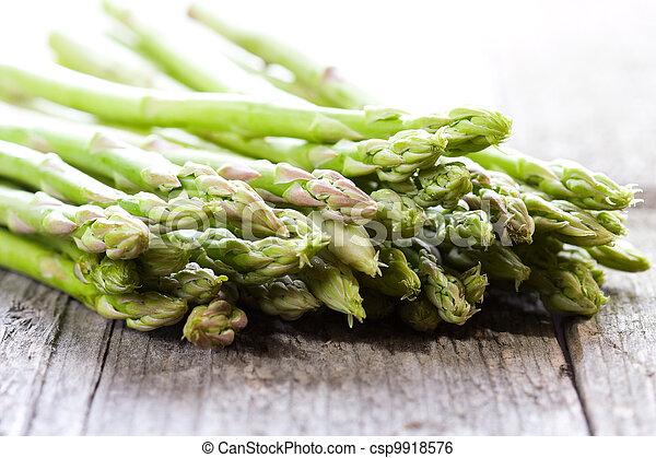 fresh asparagus - csp9918576