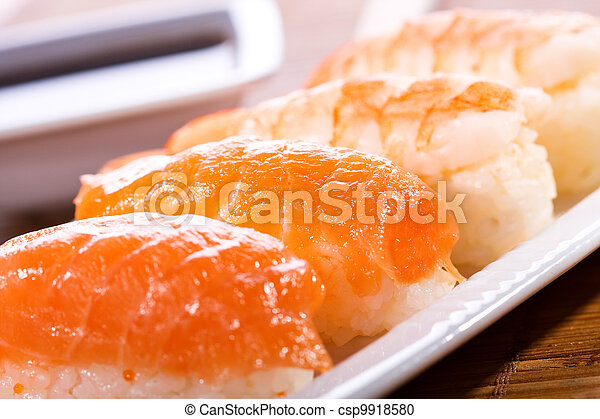 tasty sushi - csp9918580