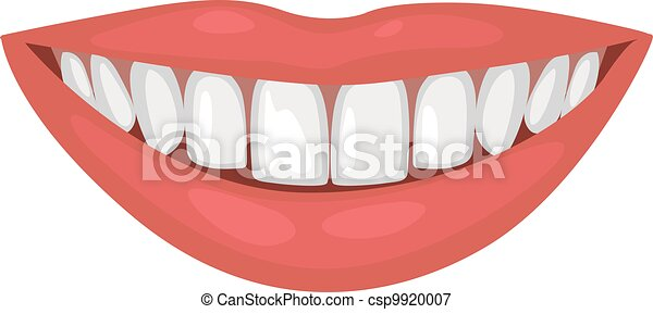 a beautiful smile with healthy teet - csp9920007