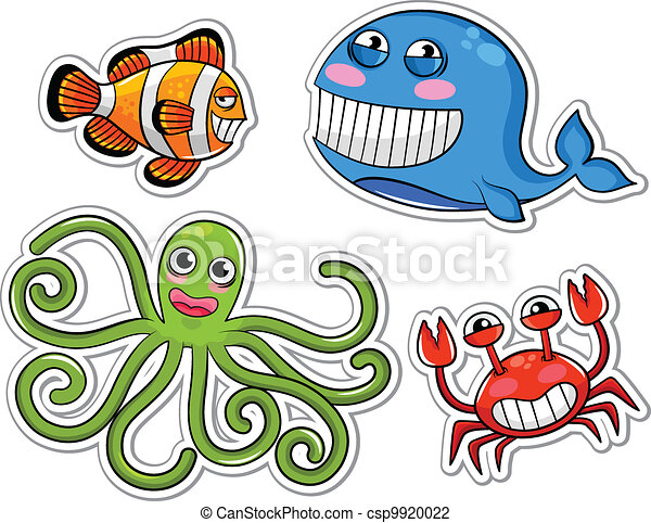 sea creatures - csp9920022