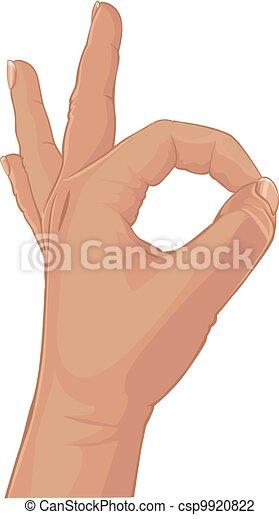 Set of batch zero from fingers - csp9920822