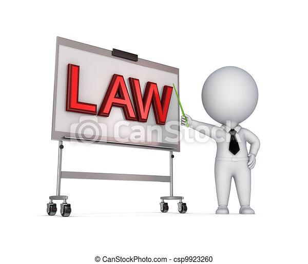 LAW concept. - csp9923260