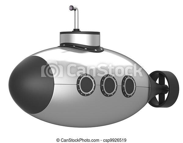 Submarine isolated - csp9926519