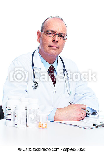 Medical doctor. - csp9926858