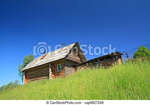 rural house not low hill - csp9927249
