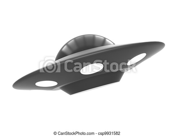 Ufo isolated - csp9931582