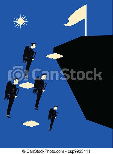 Business Metaphor  - csp9933411