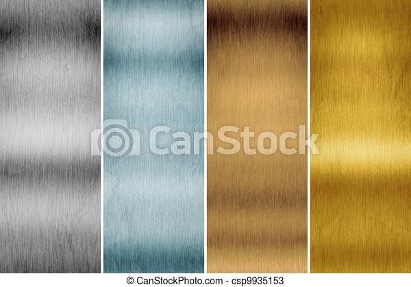 brushed metal - csp9935153