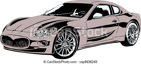 sport car made in eps - csp9936245
