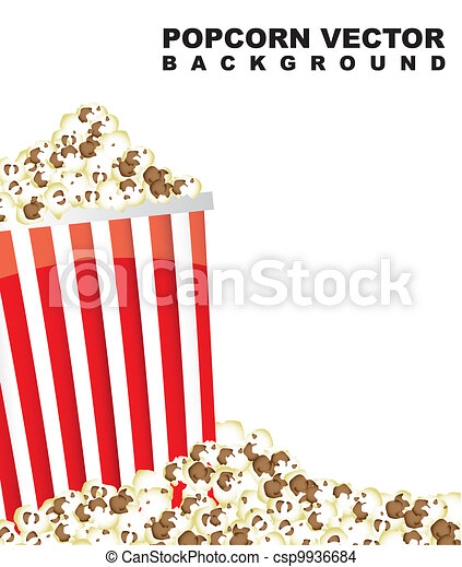 pop corn - csp9936684