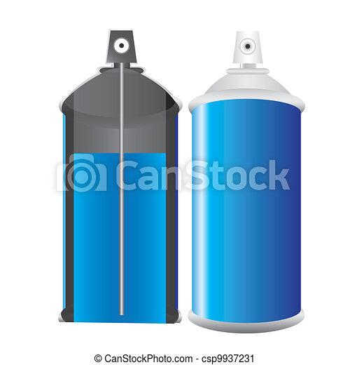 Spray bottle blue - csp9937231