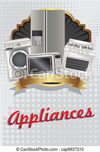 flyer  appliances - csp9937315